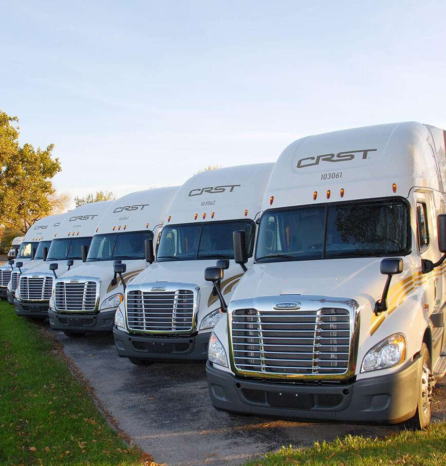 Company Driver Flatbed Trucking Jobs   CRST Van Expedited